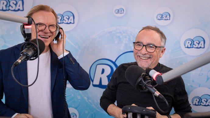 Jürgen Karney und Wolfgang Lippert bei R.SA (Foto: R.SA)