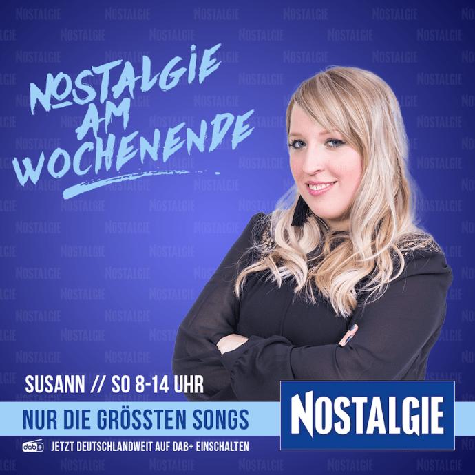 Nostalgie am Wochenende mit Susann Materac (Foto: Radio Energy)