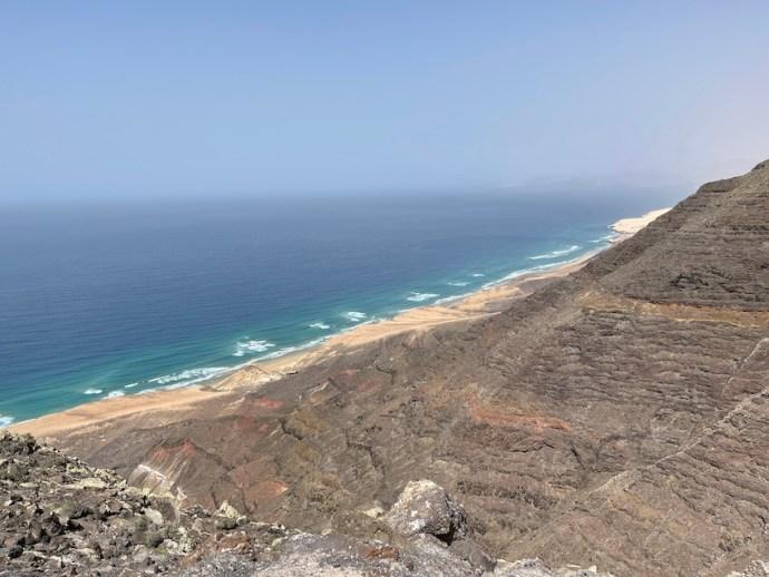 Traumhafte Aussicht trotz Calima (Foto: SmartPhoneFan.de)