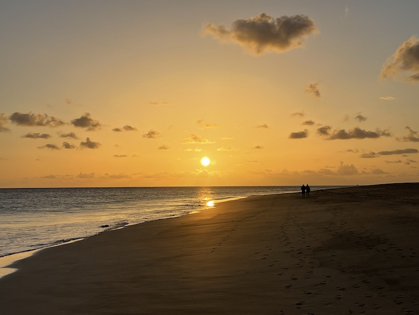 Sonnenuntergang in Jandia (Foto: SmartPhoneFan.de)
