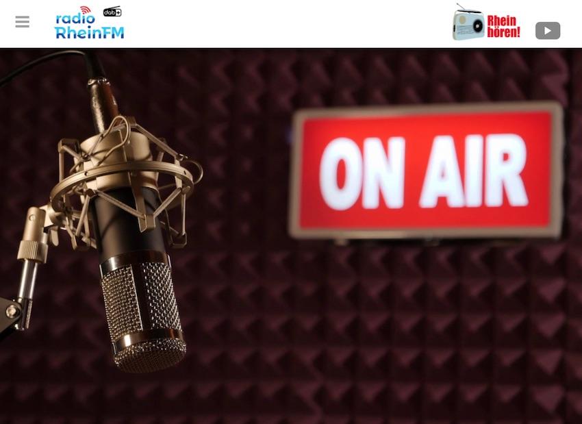 Radio Rhein FM bald auch auf DAB+ (Quelle: radio-rheinfm.de, Screenshot: SmartPhoneFan.de)