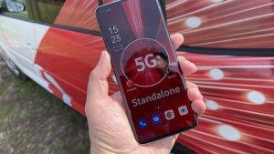5G SA von Vodafone (Foto: teltarif.de)