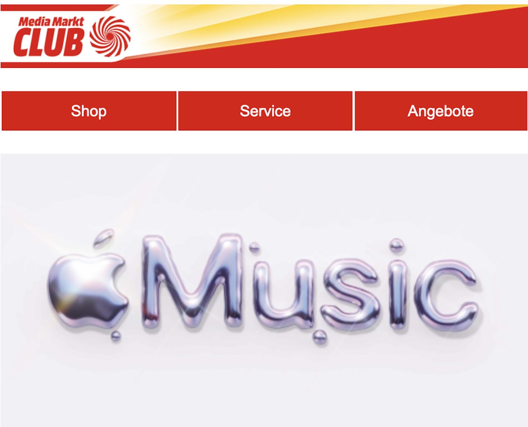 Apple Music kostenlos (Screenshot: SmartPhoneFan.de)