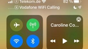 Keine Verbindung zum Vodafone-Mobilfunknetz (Foto: SmartPhoneFan.de)