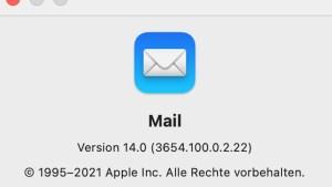 Apple Mail (Screenshot: SmartPhoneFan.de)