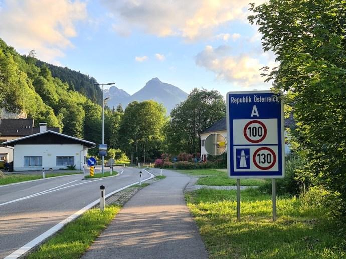 Grenze nach Tirol überschritten (Foto: SmartPhoneFan.de)