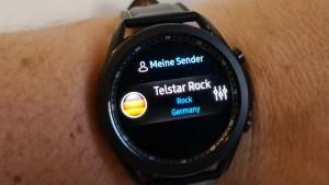 iGear Radio Pro auf der Samsung Galaxy Watch 3 (Foto: SmartPhoneFan.de)
