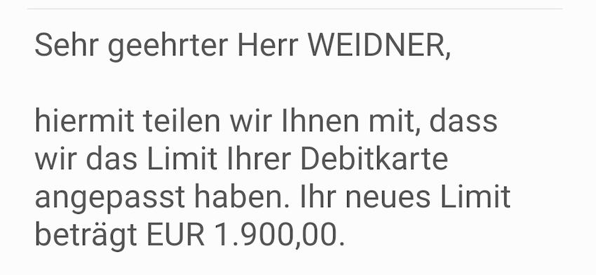 Mehr Spielraum bei Samsung Pay (Screenshot: SmartPhoneFan.de)