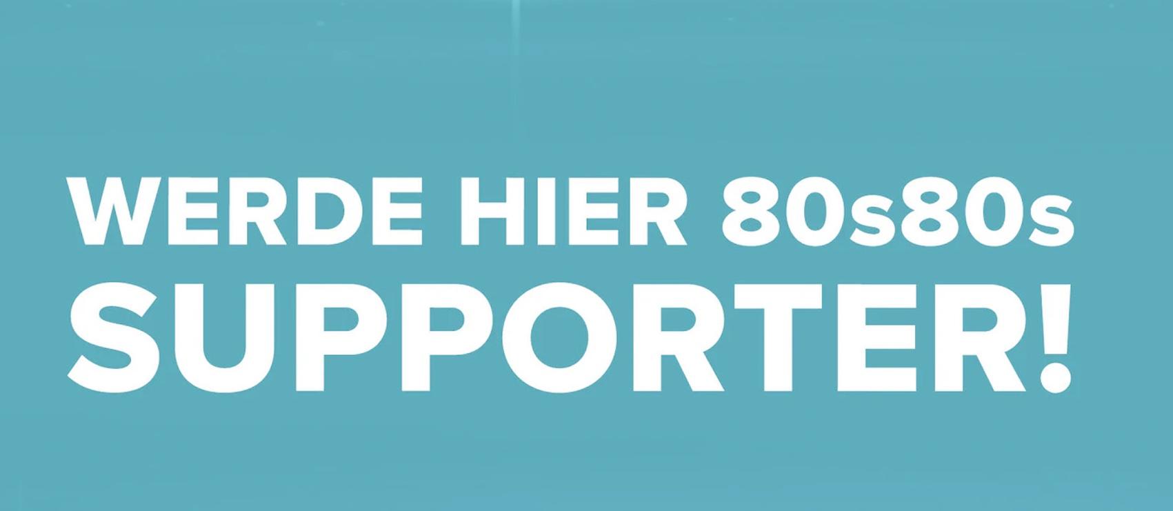 80s80s sucht Supporter (Quelle: 80s80s.de, Screenshot: SmartPhoneFan.de)