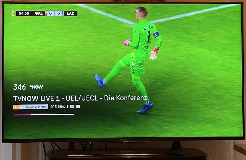 Linearer TVNOW-Kanal bei MagentaTV (Foto: SmartPhoneFan.de)