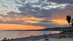 Sonnenuntergang in Nizza (Foto: SmartPhoneFan.de)