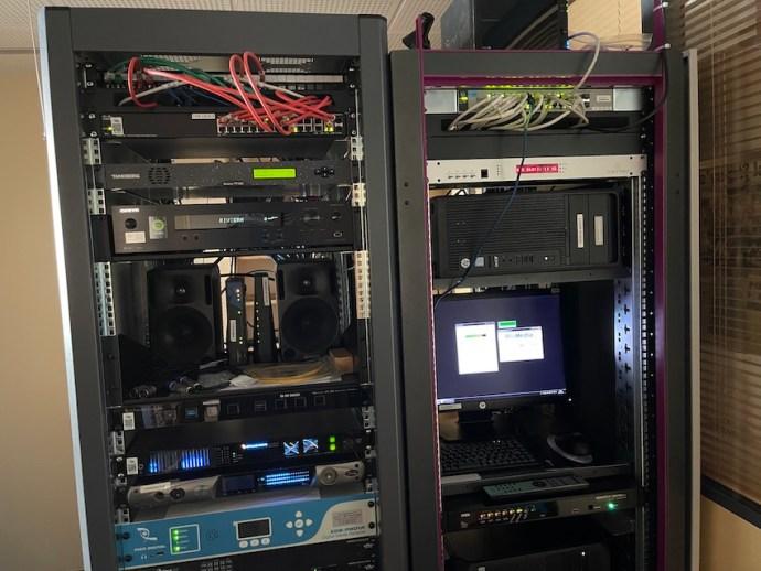 Technikraum von Riviera Radio (Foto: SmartPhoneFan.de)