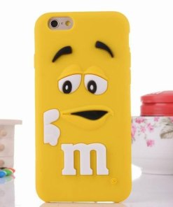 iPhone 6 6s hoesje case cover M&M rood online kopen - HF160059 - Hoesjes-Freak