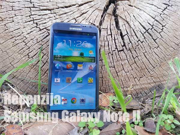 Galaxy Note 2 recenzija