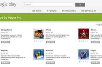 Apple aplikacije Google Play