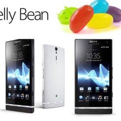 Sony Xperia S Jelly Bean