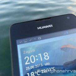 Huawei Ascend Y300 zaslon