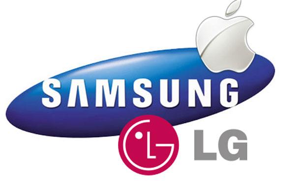 Apple Samsung LG