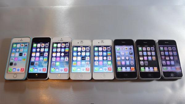 Svi iPhonei od pamtivijeka u jednom testu (Video) 42867c4f1e9