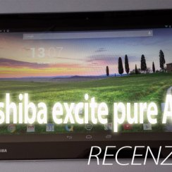 Toshiba excite pure AT10 recenzija