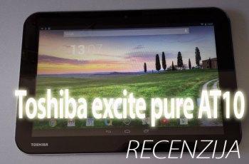 Toshiba excite pure AT10 recenzija