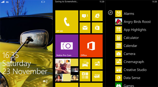 Lumia 1020 recenzija softver