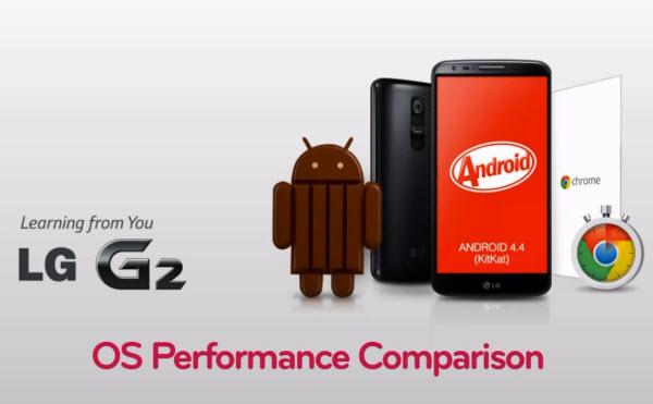 LG G2 kitkat nadogradnja