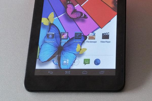 My Tab M71B-3G recenzija zaslon