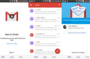 gmail 5.0 apk s exchange podrškom apk