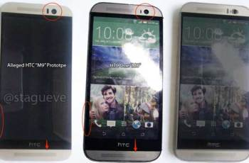 HTC One M9 tanji okvir zaslona