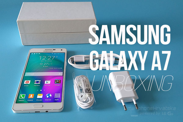 galaxy a7 unboxing