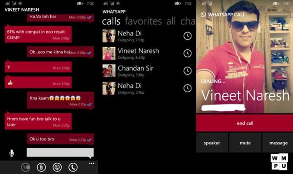 WhatsApp pozivi stižu i na Windows Phone