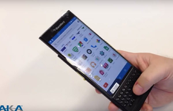 blackberry venice na videu