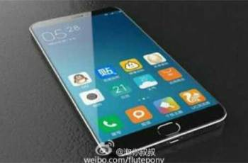 Xiaomi Mi 5 render