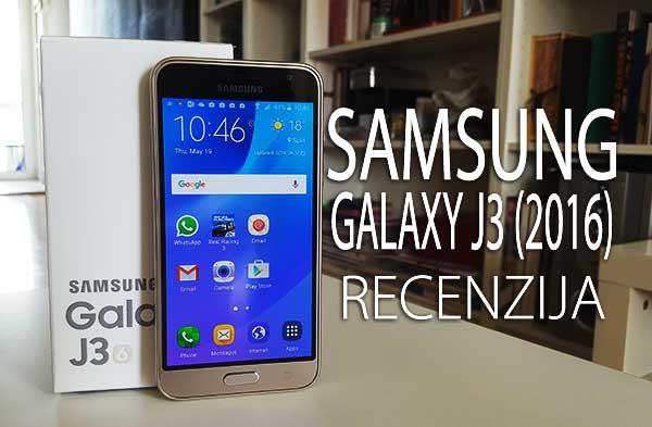 Recenzija: Samsung Galaxy J3 (2016)