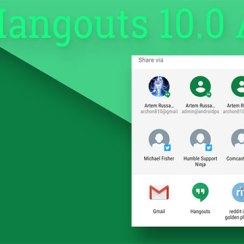 Hangouts 10 za Android donosi Direct Share