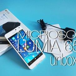lumia 650 unboxing