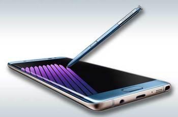 Galaxy Note 7 edge zaslon