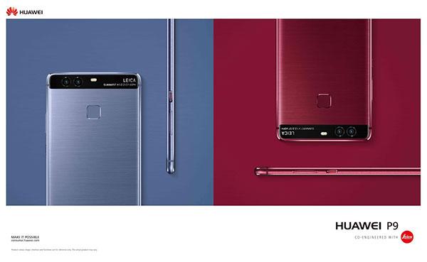 Huawei P9 nove boje