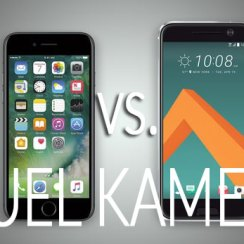 iPhone 7 vs. HTC 10 - dvoboj kamera