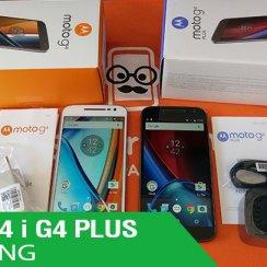 Moto G4 i Moto G4 Plus - Unboxing i prvi dojmovi