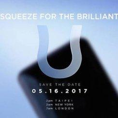 Potvrđeno: HTC U stiže 17. svibnja, voli stiskanje