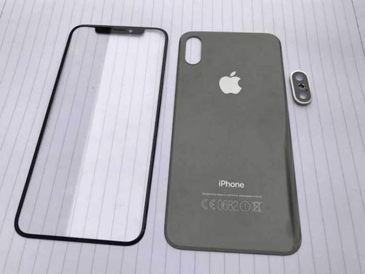 Prednje i stražnje staklo iPhonea 8 još jednom potvrđuje novi dizajn