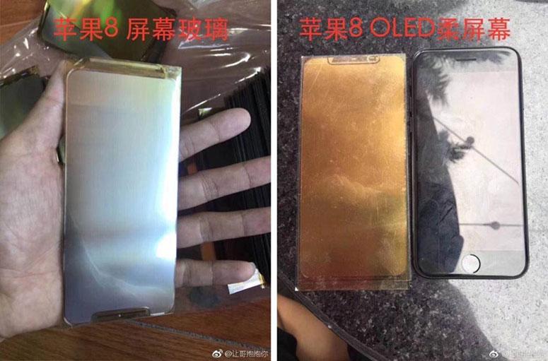 Procurilo još iPhone 8 komponenti uključujući OLED panel