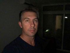 Portret mrak zaslonska bljeskalica