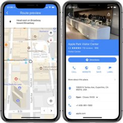 Google Karte napokon s podrškom za zub iPhonea X