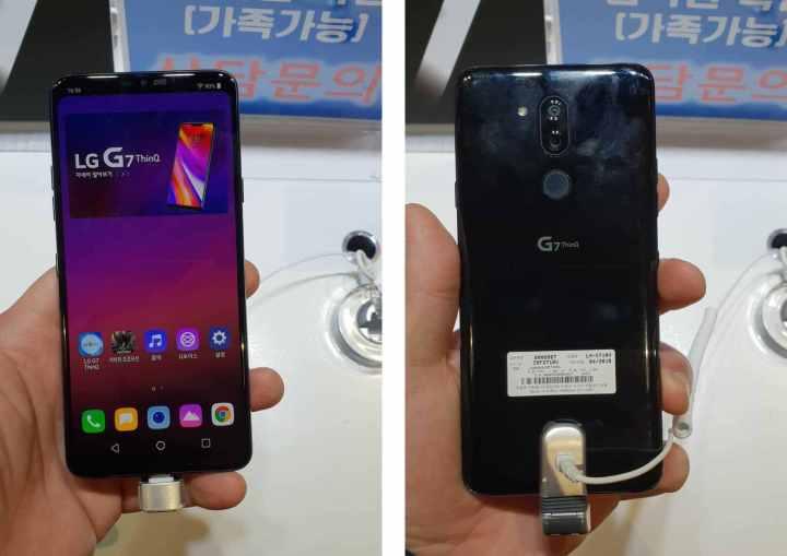 LG G7 ThinQ na fotkama uživo uoči sutrašnjeg predstavljanja - zuba ni za lijek