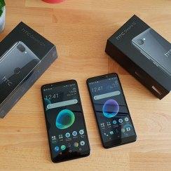 HTC Desire 12 Desire 12+ Unboxing