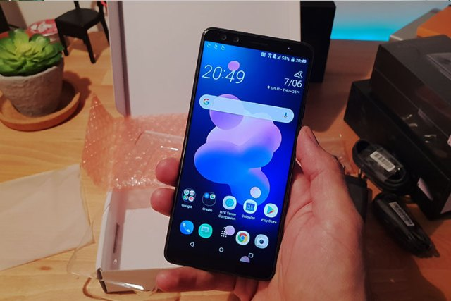 HTC-U12+UNBOXING