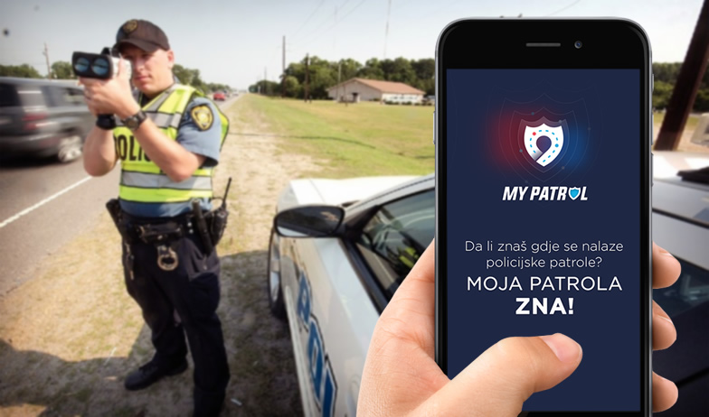 Moja Patrola za Android i iPhone otkriva policijske patrole, radare i kamere